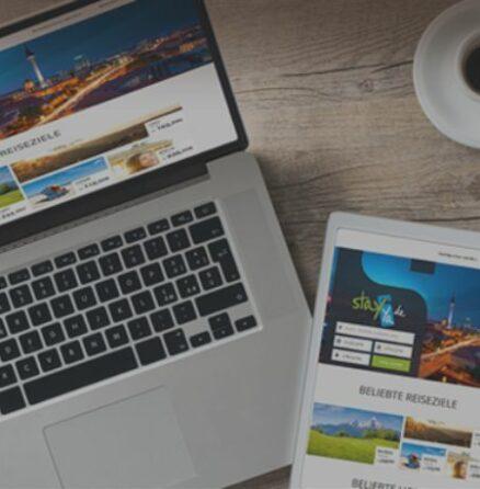 E-Commerce Buchungsplattform für Hotels - Stayya Reiseportal