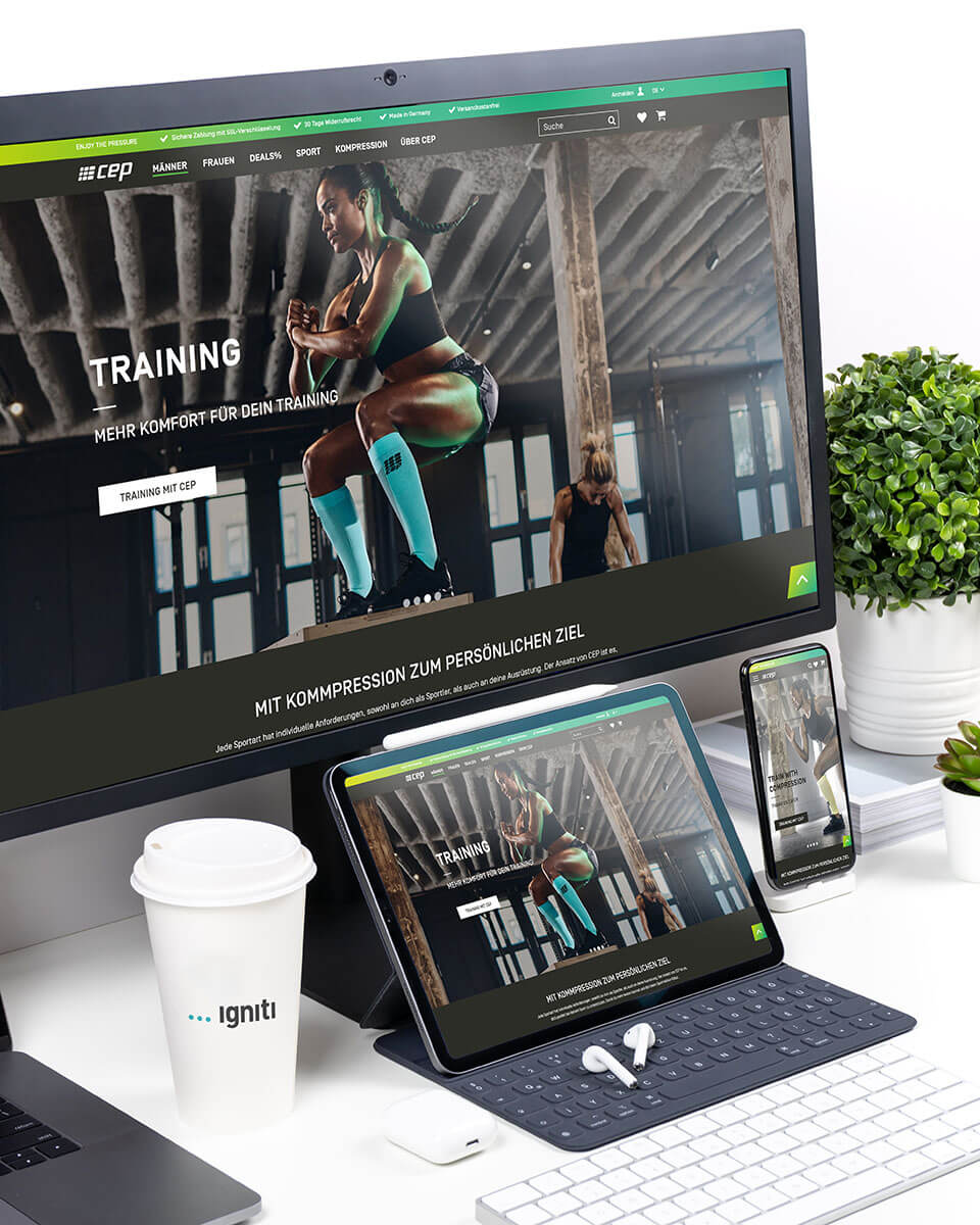cep Referenz Online-Shop Magento 2   igniti
