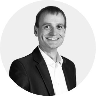 Ihr Ansprechpartner für Digitalprojekte: Frank Rub (CEO) Porträt
