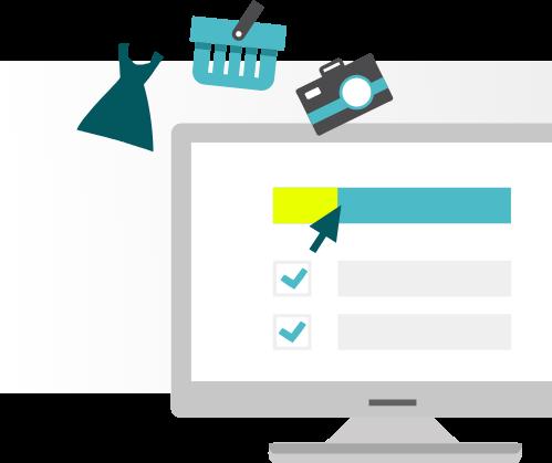 Magento Produkte & Kategorien Anordnung im Online-Shop