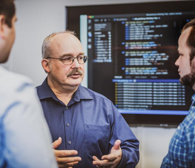 Frontendentwicklung und Backendentwicklung für Softwareanwendungen
