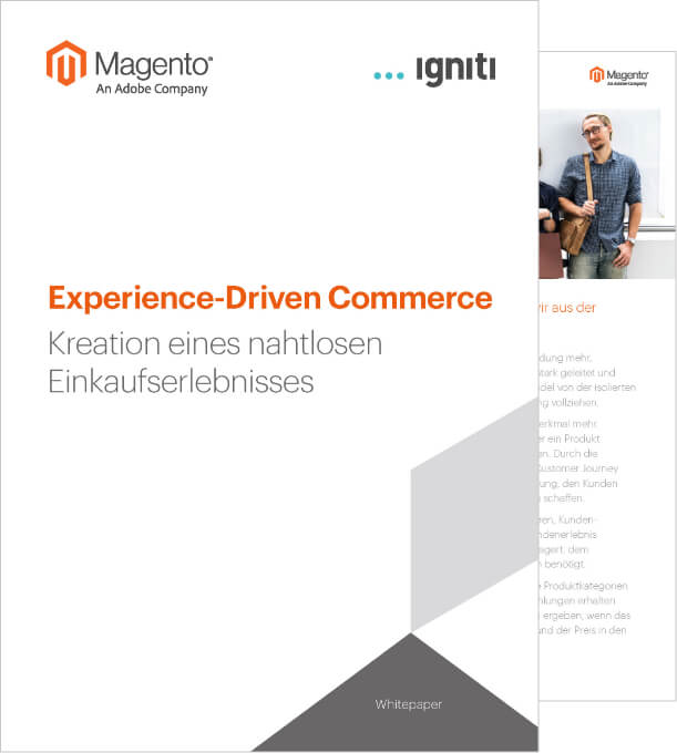 Whitepaper Experience Driven Commerce Magento | igniti GmbH