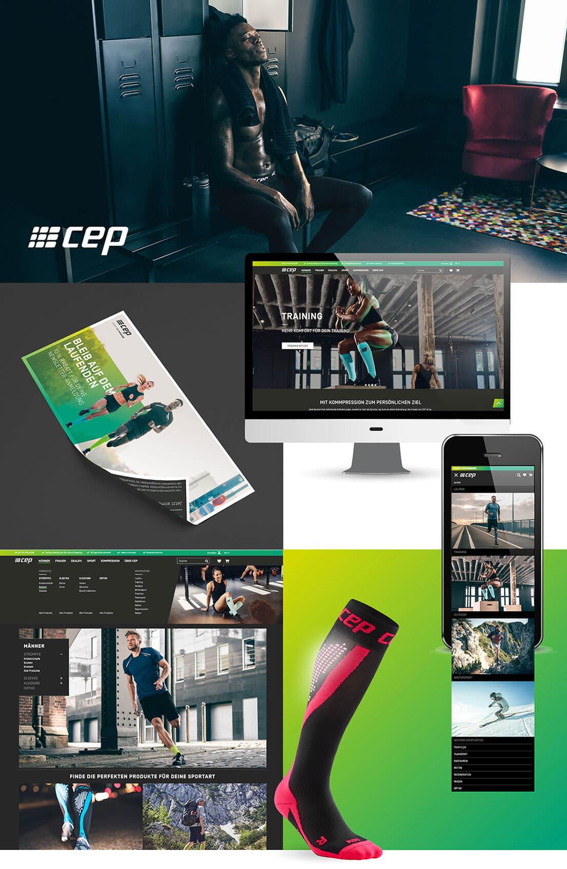 Unsere Referenzen: CEP Sports Online Shop