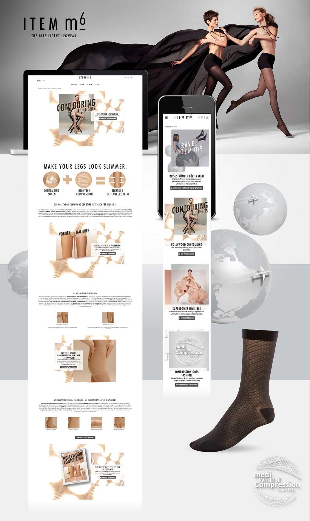 Unsere Referenzen: ITEM m6 Online Shop