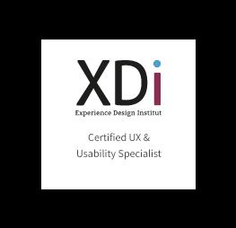 UX Zertifikat XDi