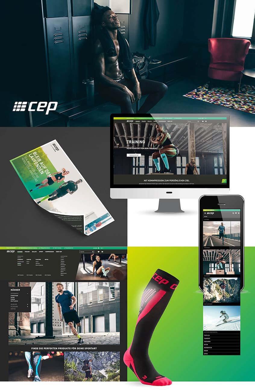 B2C E-Commerce Shop CEP Sports