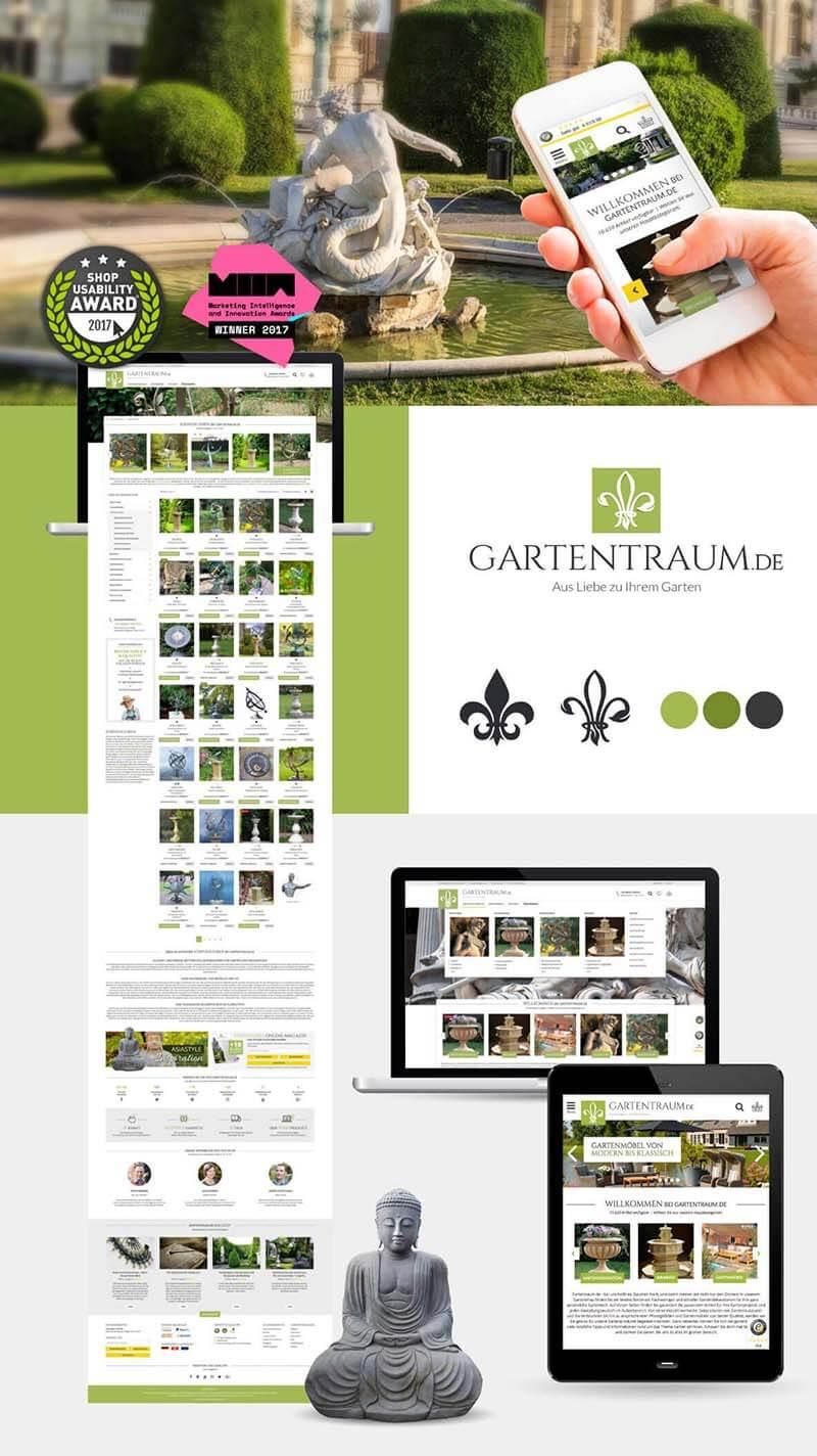 UX Design Agentur - Gartentraum Usability Award