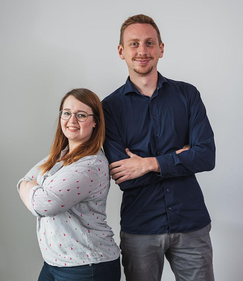 E-Commerce Studium in Jena - Franzi und Timm, die Werkstudenten der igniti