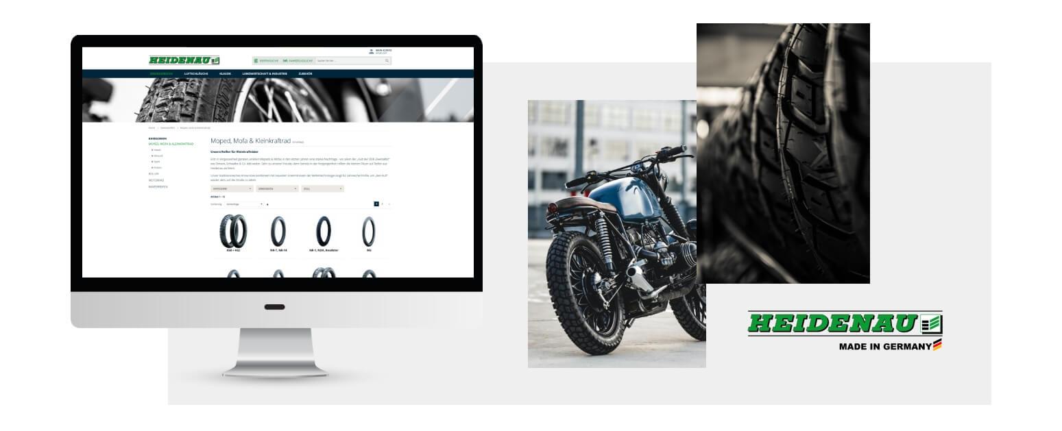 B2B Onlineshop Heidenau