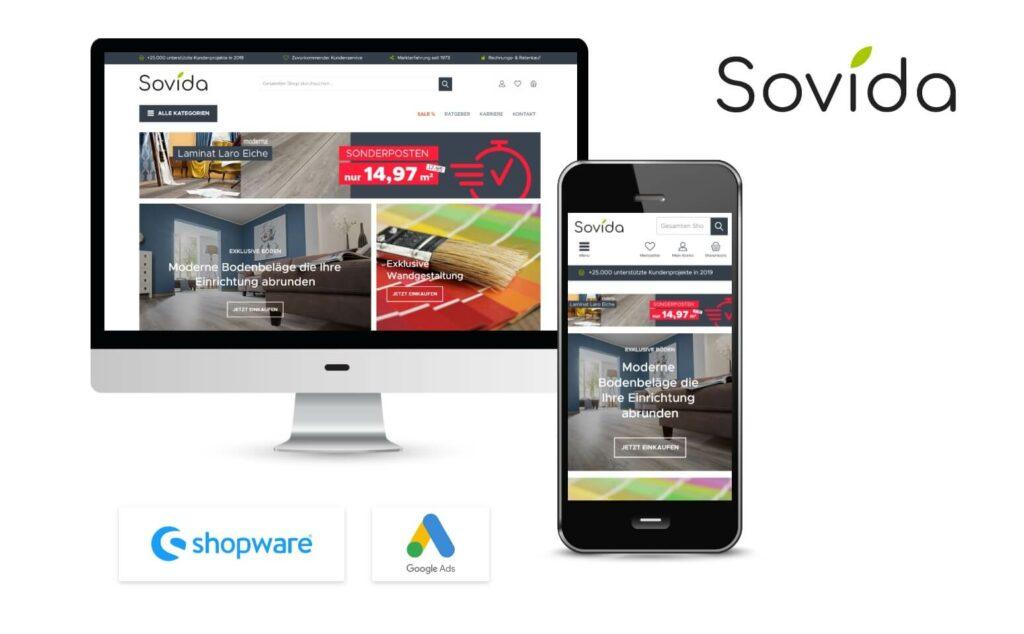 Google Ads für Shopware Shop Sovida