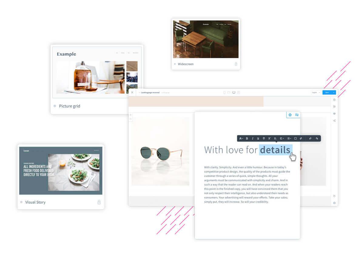 Shopware 6 Erlebniswelten für B2B